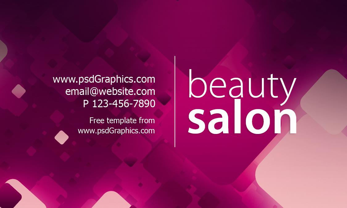 Business card psd templates for free download beauty salon business card cheaphphosting