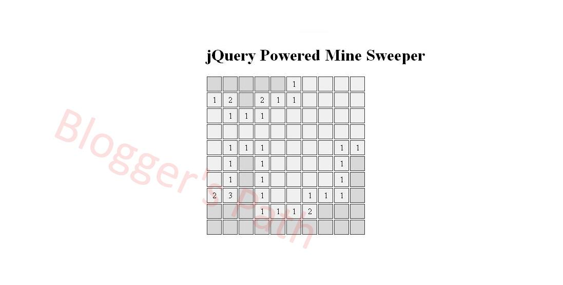 minesweeper-jquery-game