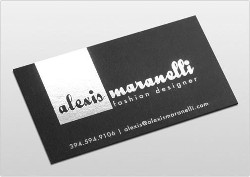 Black and silver business cards arts arts 35 creative and beautiful business card templates to get colourmoves