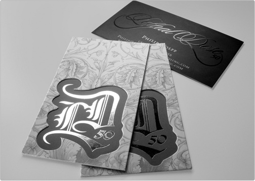 35 creative and beautiful business card templates to get inspiration guitar trader the guitar trader folded business card reheart Images