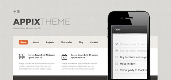 Appix Home Page Template