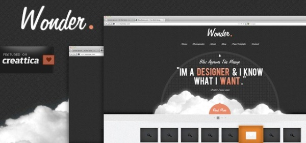 Wonder Theme Template
