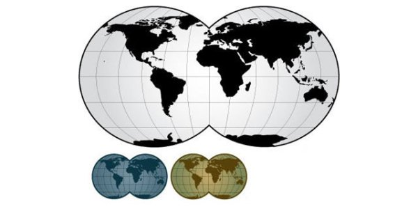 World Map Vector Illustration (.eps format)