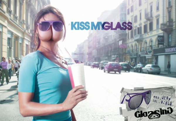 Glassing Sunglasses - Kiss my glass
