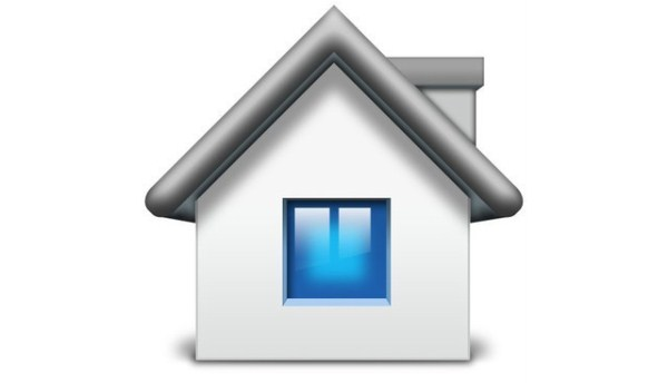 Mac Style Home Icon in Photoshop
