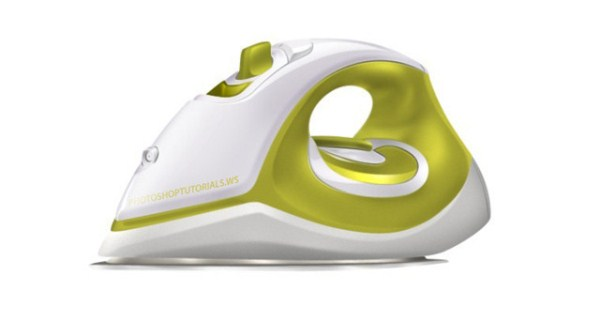 Realistic Steam Iron