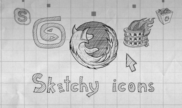Sketchy Icons Pack