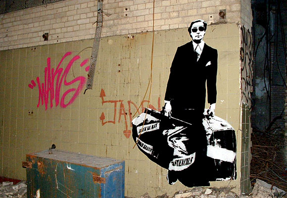 Blek's Graffiti