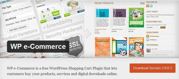 E-commerce Plug-in for WordPress