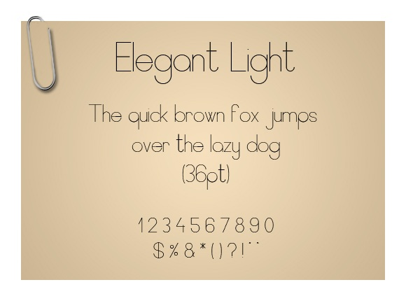 Elegant Light