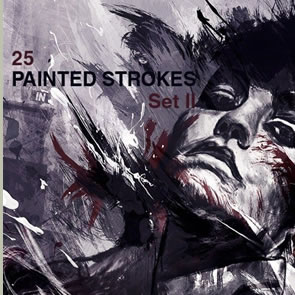 High-Res Paint Strokes