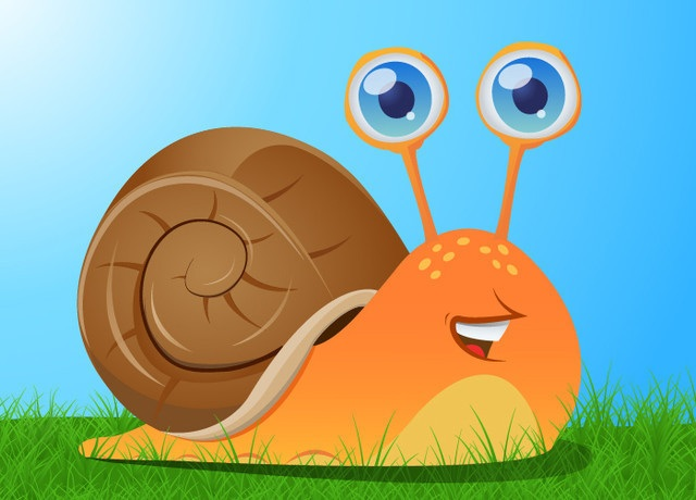 Create a Cute Snail