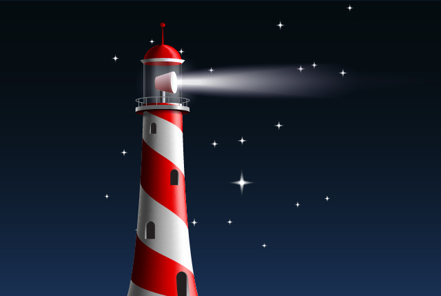 Illustrate a Lighthouse