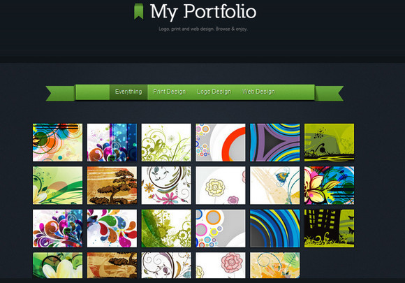 Beautiful HTML5 Portfolio