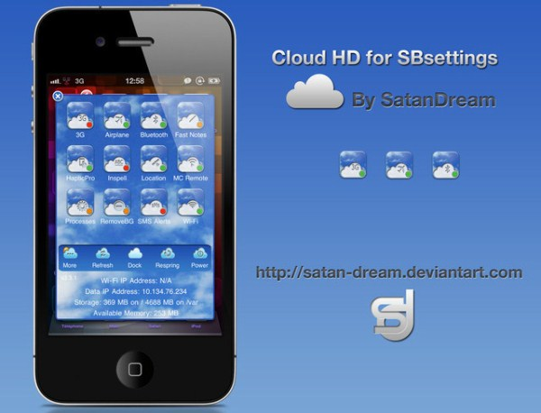 Cloud HD for SBsettings