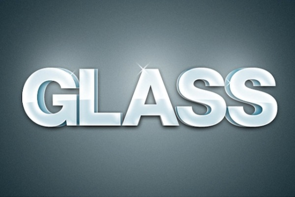 Glossy 3D Text Effect in Photoshop