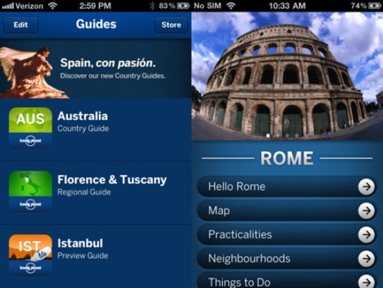 lonely planet travel guides free download