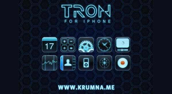 TRON for the iPhone