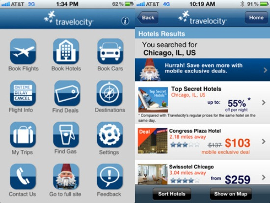 Travelocity Car Rental: 30 Free IPhone Apps To Help Out Travelers