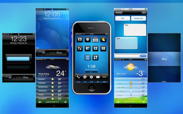 iBlue Theme