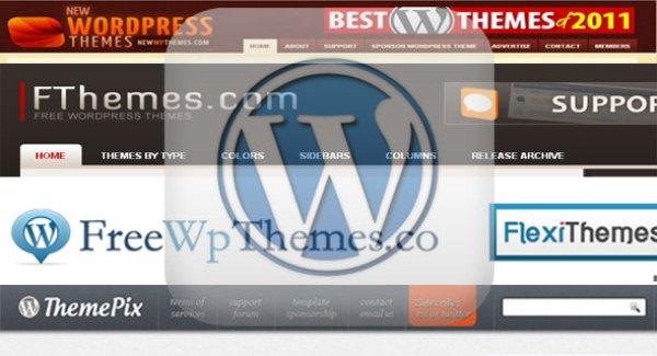 Free WordPress Themes Download Sites