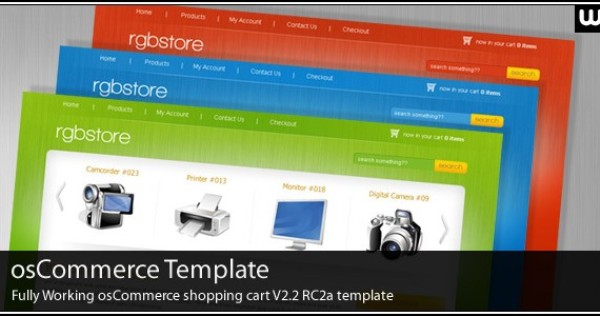 eCommerce Template Development