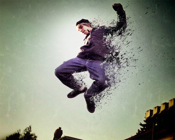 Easy Dispersion Effect in Photoshop