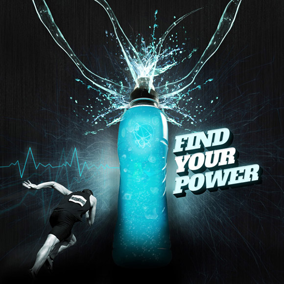 Energy Drink Advertisement