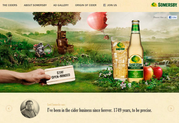 20 Website Designs Based Upon Nature
