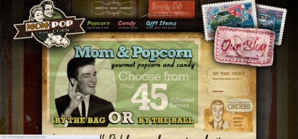 Top 15 Websites with Vintage and Retro Design