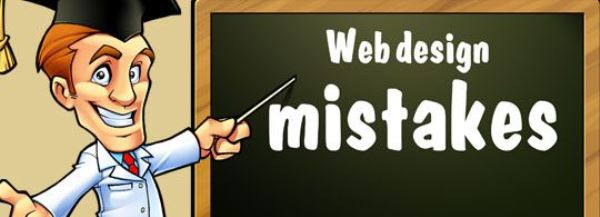 5 Common Web Design Mistakes & Getting Rid of Them