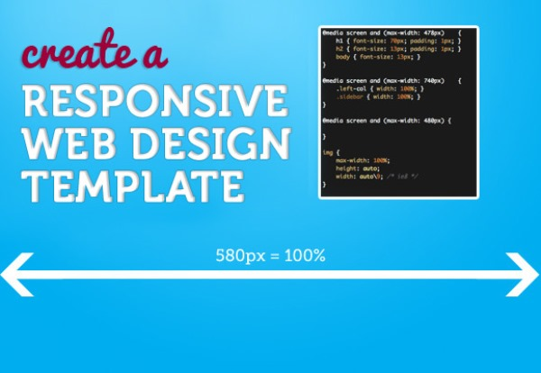 Create a Responsive Web Design Template