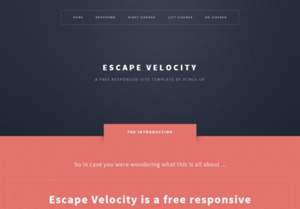 45 Best Free HTML5-CSS3 Templates for Download