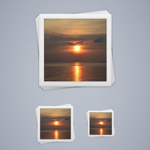 Simple Photos Icon