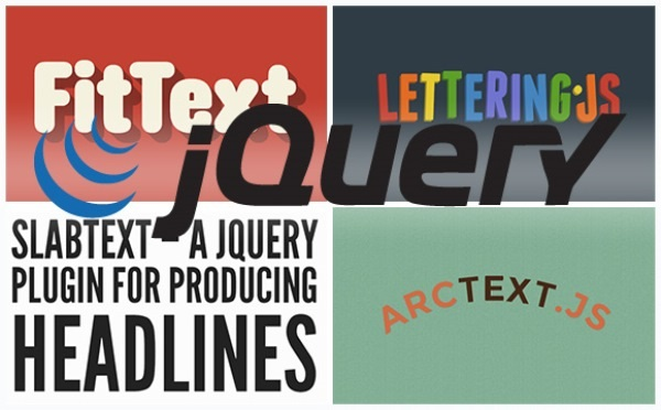 jQuery Plugins for Typography in Web Design