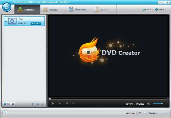 Wondershare DVD Creator Review