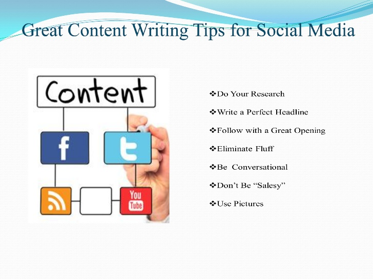 tips for content writing Short, sweet and to the point here are 5 tips for writing website content to delight readers.